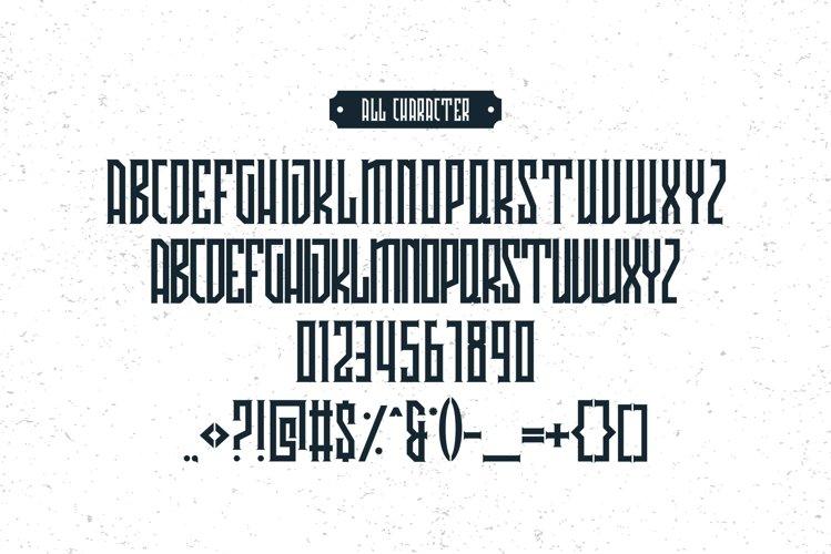 Avriella Display Font example 5