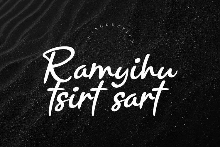 Ramyihu tsirt sart example image 1