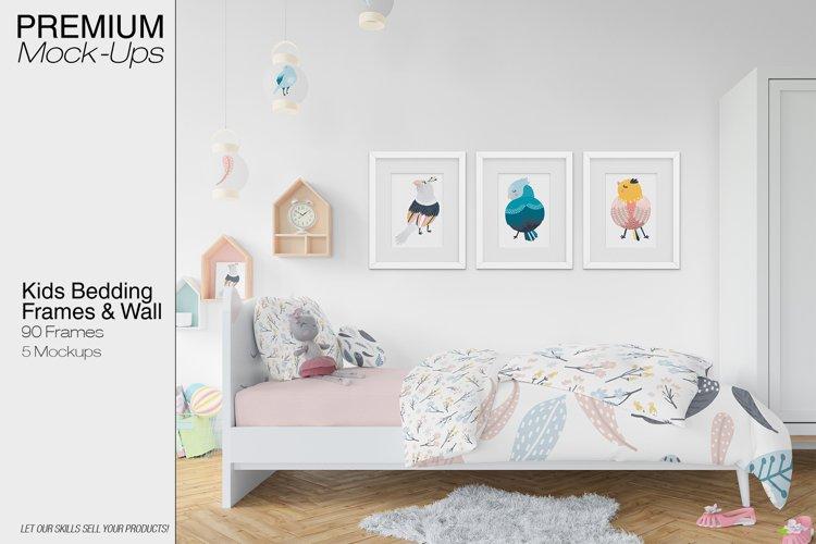 Kids Bedding, Frames & Wall Set example image 1