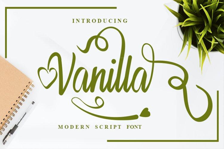 Vanilla Premium Font example image 1
