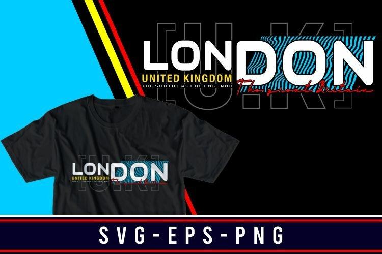 london T-SHIRT DESIGN SVG-PNG-EPS