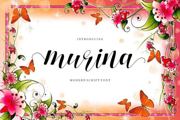 Murina Script example image 1