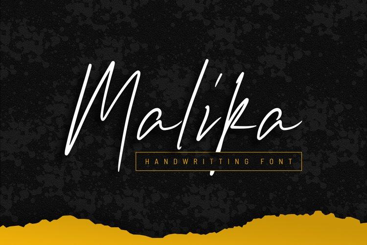 Malika Font example image 1
