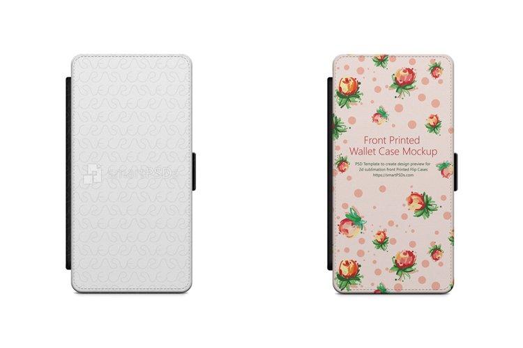 Samsung Galaxy J5 2016 2d Wallet Mobile Case Mockup 2016 example image 1