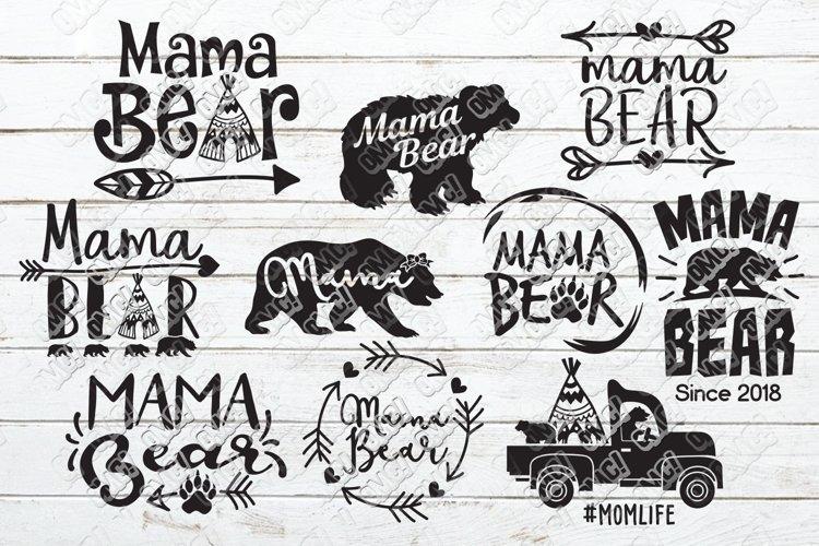 Mama Bear SVG Bundle