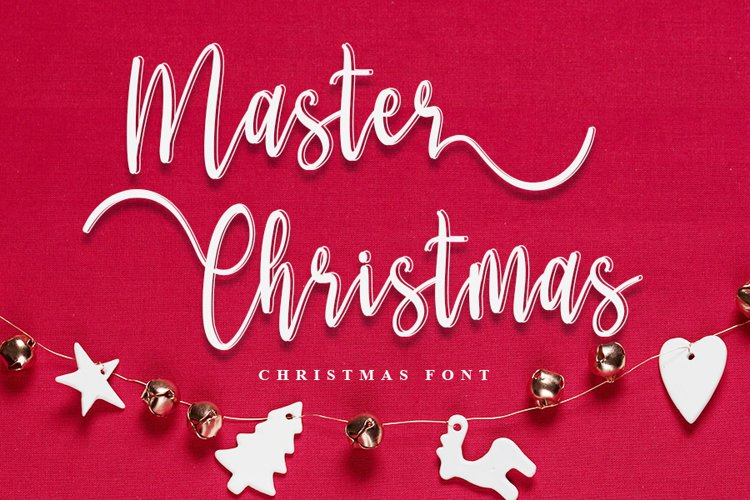 Master Christmas | Christmas Script Font example image 1