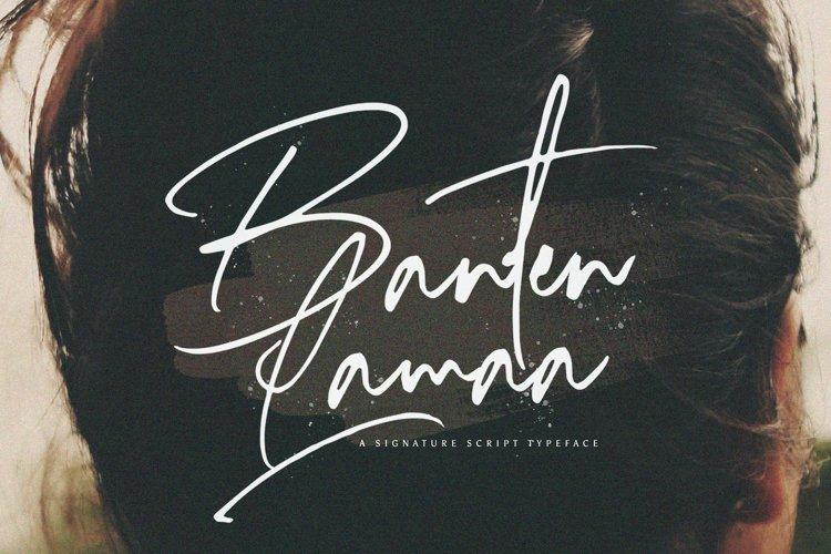 Banten Lama - Signature Script Font example image 1