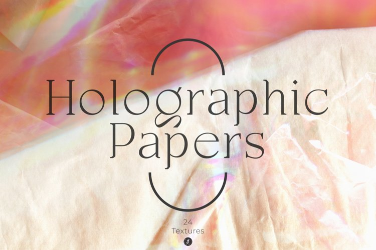 Holographic Papers Textures example image 1