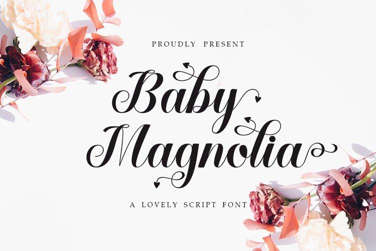 Baby Magnolia example image 1