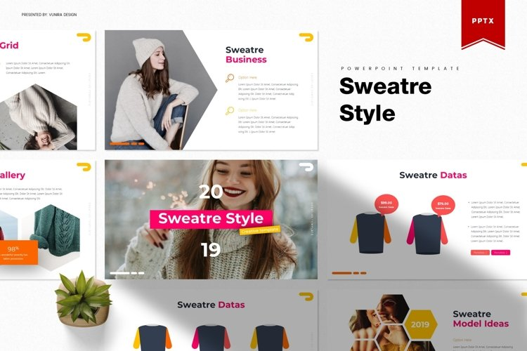 Sweatre Style | Powerpoint, Keynote, Google Slides Template example image 1