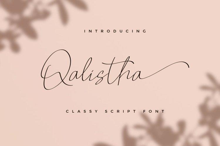 Qalistha example image 1