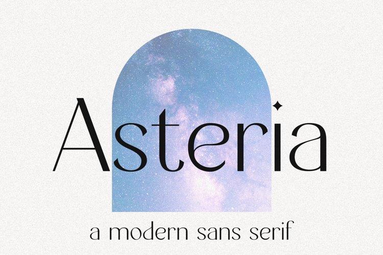 Asteria // A Modern Sans Serif example image 1