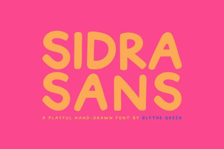 Sidra Sans