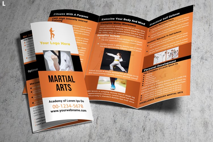 Fitness Brochure Template example image 1