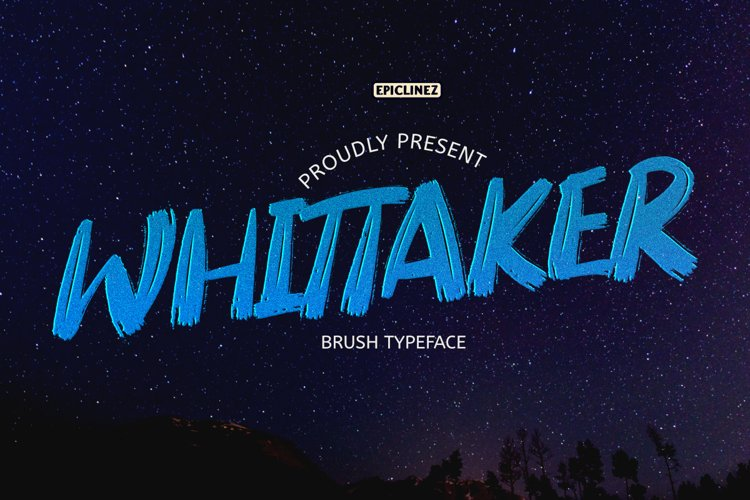 Whittaker - A Brush Typeface example image 1