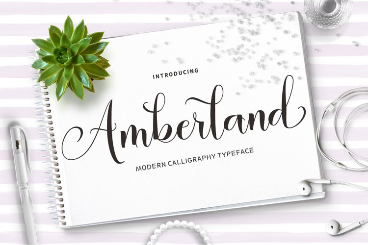 Amberland Script example image 1