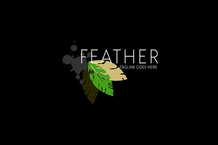 Feather Author quill pen example image 1