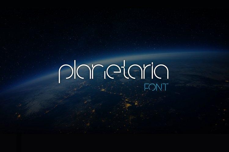 Planetaria Font example image 1