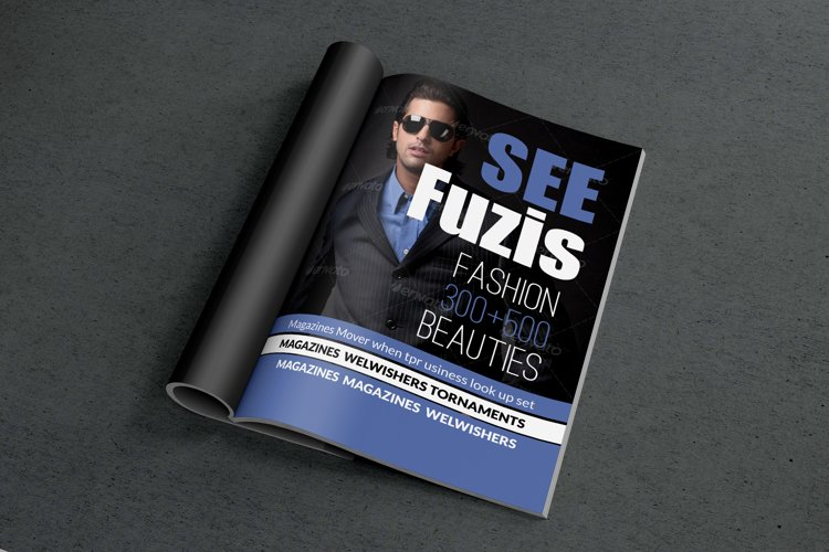 Business Man Magazine Cover example image 1