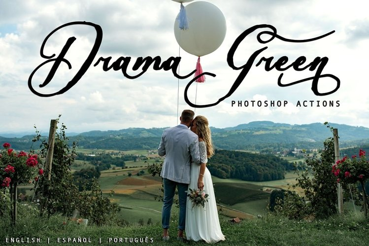 Drama Green - Photoshop Actions