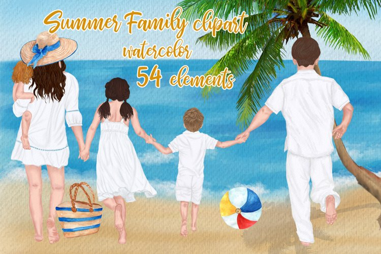 Family clipart Mother's day clipart Summer Mug design Png example image 1