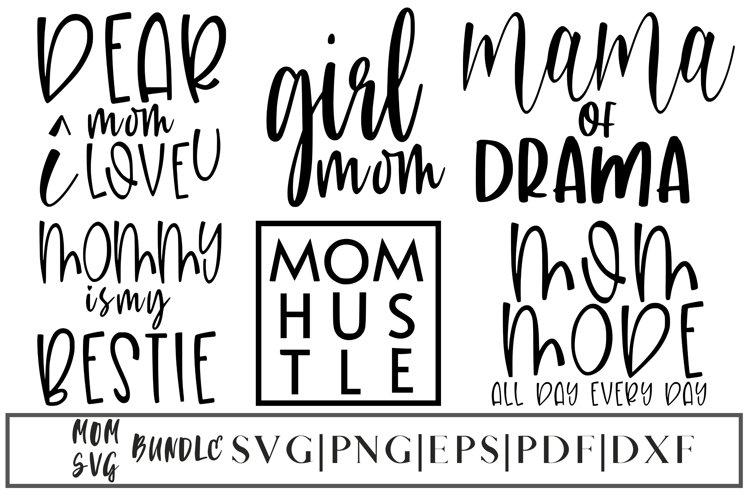 Mothers Day SVG Bundle | Mom SVG Bundle - 6