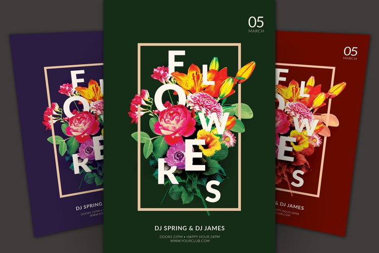 Flowers Flyer example image 1