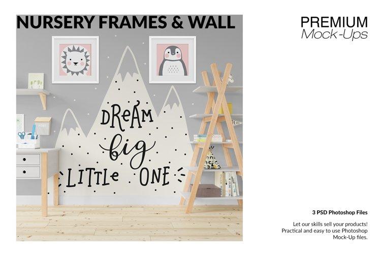 Nursery Frames Carpet & Wall Set example image 1