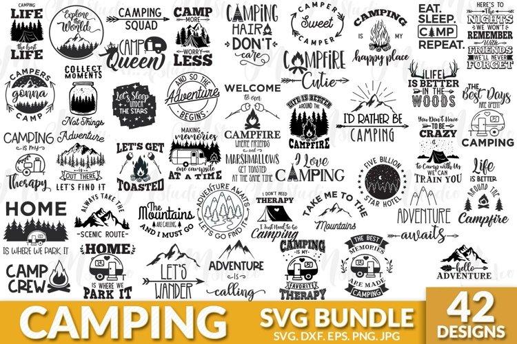 Camping SVG Bundle.