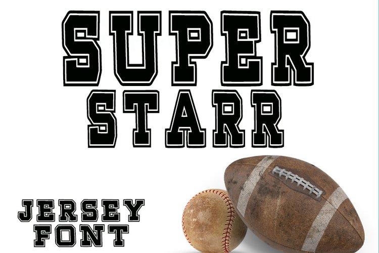 Super Starr Throwback Font