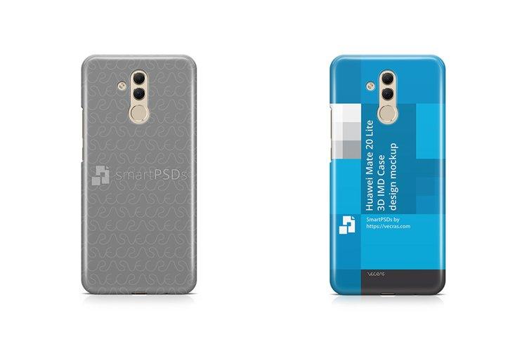 Huawei Mate 20 Lite 3d IMD Case Design Mockup 2018 example image 1
