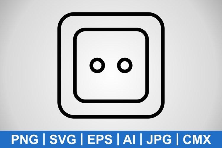 Vector Socket Icon example image 1