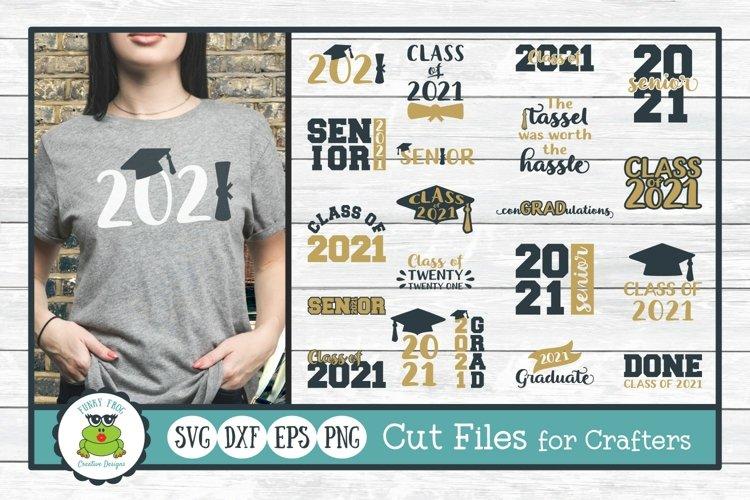 2021 Graduation Design Bundle - SVG Cut Files for Crafters