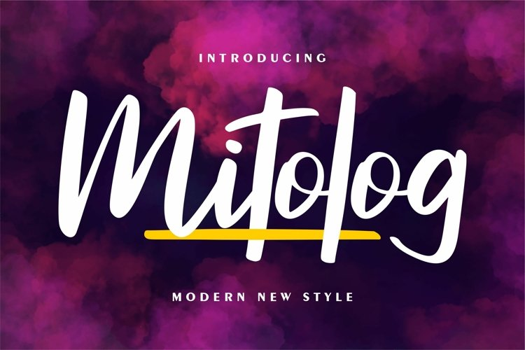 Mitolog - Modern New Style example image 1
