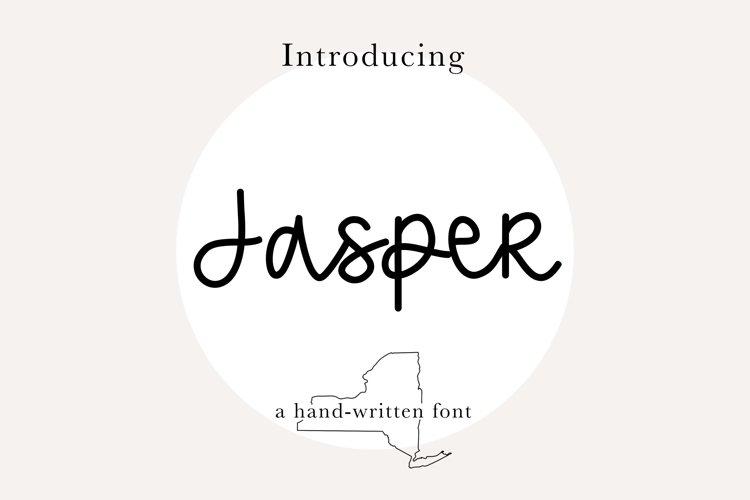 Jasper Font | Casual, Handwritten, Script Font example image 1