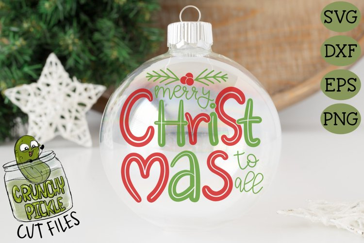 Merry Christmas To All SVG example image 1
