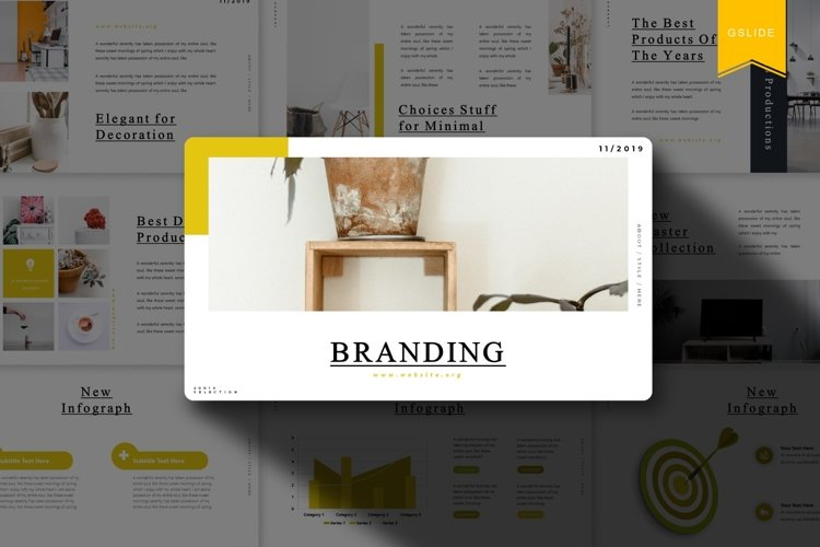 Branding | Google Slides Template example image 1