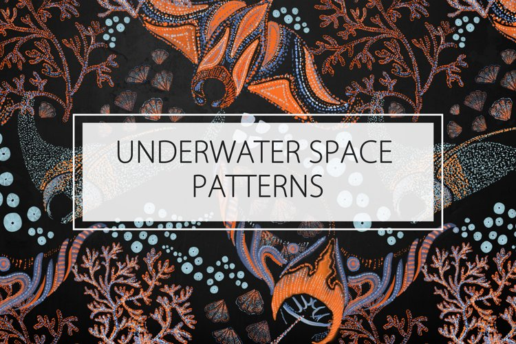 UNDERWATER / SPACE PATTERNS example image 1