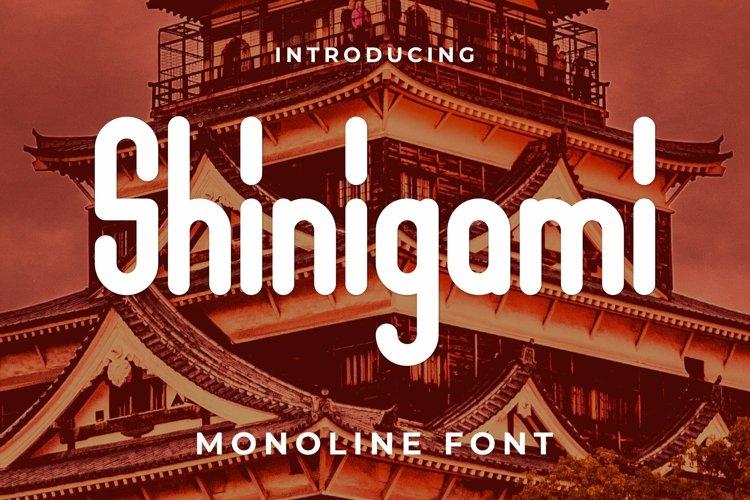 Web Font Shinigami Font example image 1