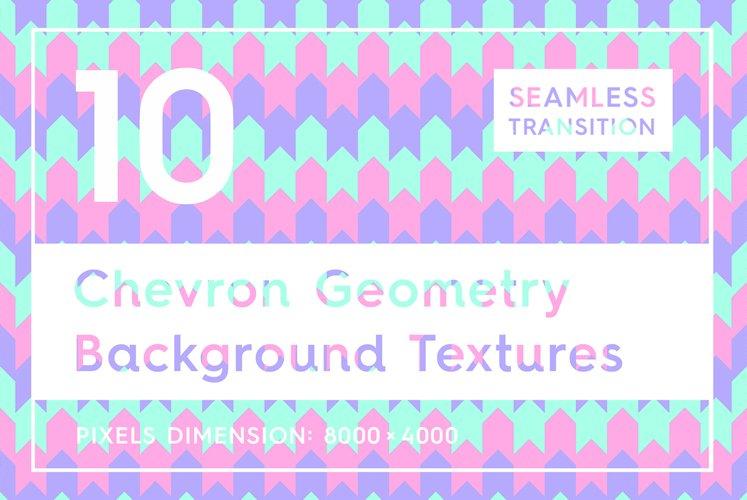 10 Chevron Geometry Backgrounds example image 1