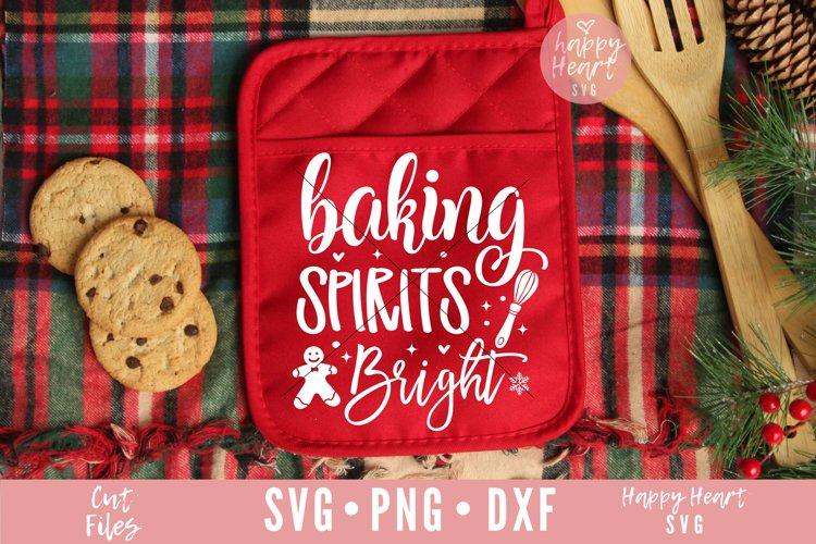 Baking Spirits Bright SVG example image 1