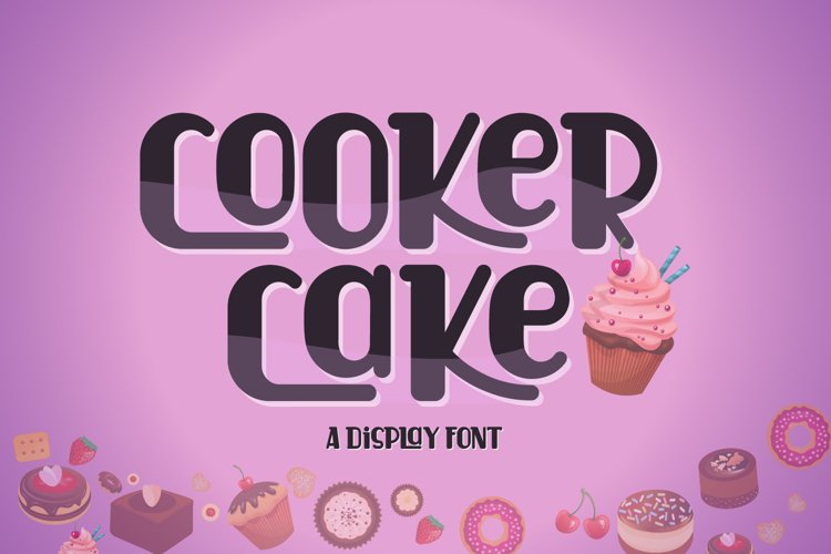 Cooker Cake | Display Font example image 1