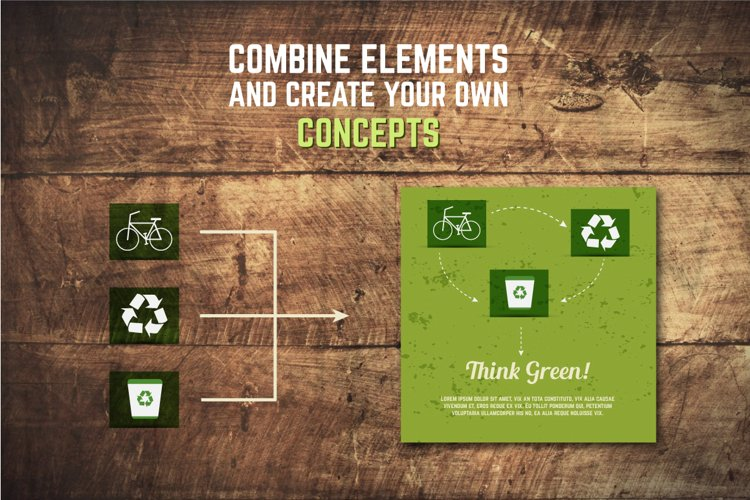 5 Eco Poster Concepts & Stickers example 4