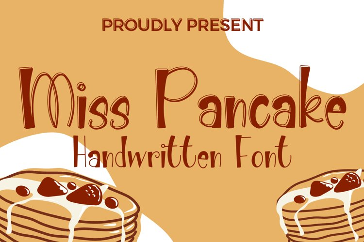 Miss Pancake - Cute Handwritten Font