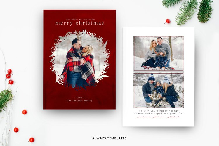 Christmas Card Template CC087 example image 1