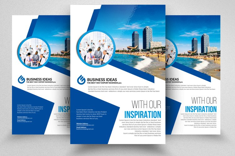 Luxury Real Estate Flyer Template & Ad example image 1