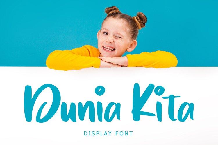 Dunia Kita Exciting Display Font example image 1