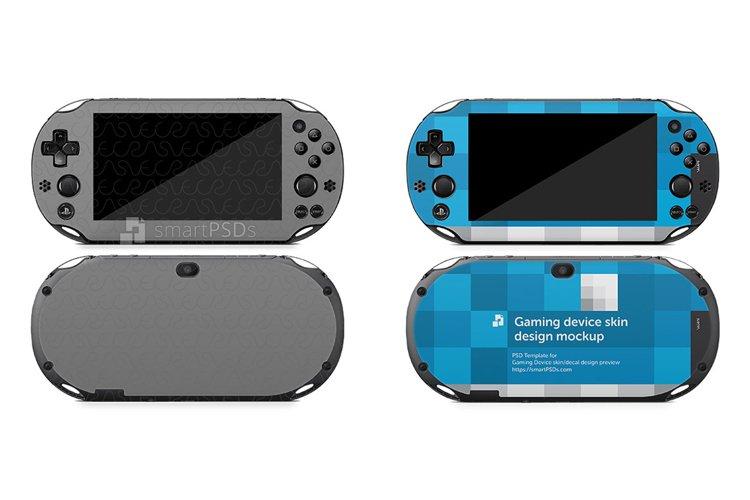 Sony PS Vita Slim 2000 Skin Decal Design Template 2014 example image 1