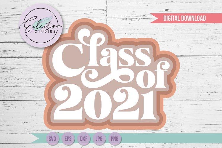 Retro Class of 2021 Seniors Shirt SVG example 1
