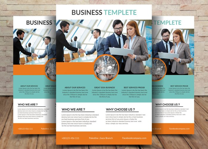 Business Template Flyer example image 1